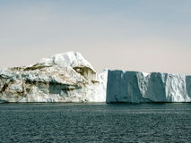 Greenland. Glacier and iceberg at Greenland Royalty Free Stock Images