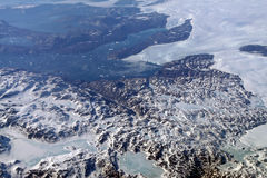 Greenland Glaciers stock photography