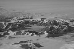 Greenland Glaciers Royalty Free Stock Photos