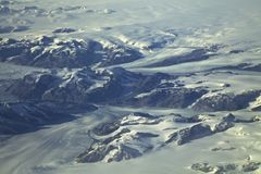 Greenland Glaciers Royalty Free Stock Photography