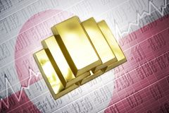 Greenland gold reserves Royalty Free Stock Photography