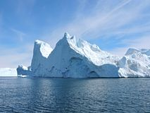 Greenland. Ice at the coast of greenland Royalty Free Stock Image
