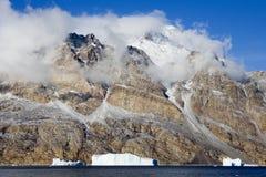 Greenland - Icebergs - Scoresbysund. Icebergs in Scoresbysund in eastern Greenland Royalty Free Stock Photography