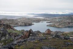Greenland inlandsis Stock Image