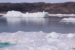greenland isberg Royaltyfria Foton