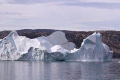 greenland isberg Royaltyfri Foto