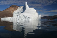 greenland isberg av Royaltyfri Bild