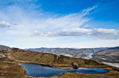 greenland kangerlussuaq Arkivfoto