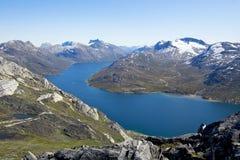 Greenland mountain range Royalty Free Stock Image
