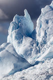 Greenland. Nature and landscapes of Greenland. Travel on the scientific vessel among ices. Studying of a phenomenon of global warming. Ices and icebergs of stock photos