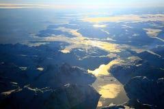 Greenland sunset Stock Photo