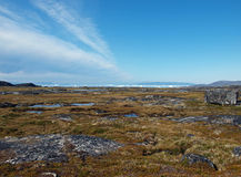 Greenland west coast in summer. Greenland west coast, one day walk north of Ilulissat Stock Images