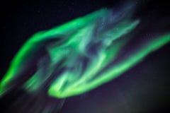 Greenlandic северное сияние Стоковые Фотографии RF