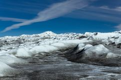 Greenlandic ice cap, the largest glacier on the northern hemisphere. Point 660, Kangerlussuaq area, Greenland, beautiful, view, landscape, nature, summer stock photography