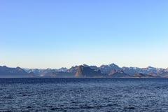 Greenlandic Küstenlinie lizenzfreie stockbilder