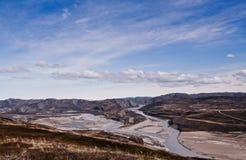 Greenlandic Landschap Stock Foto
