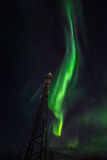 Greenlandic Northern lights Royalty Free Stock Images
