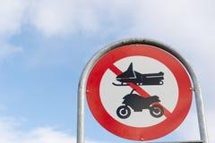 Greenlandic street sign Stock Photos