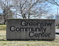 Greenlaw Community Center, Memphis, TN stock images