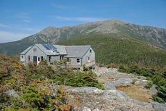 Greenleaf AMC-Hütte, Franconia Kerbe, NH Lizenzfreies Stockbild