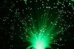 Greenlight im Schwarzen lizenzfreies stockbild