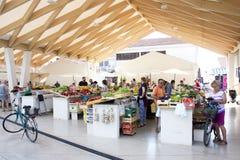 Greenmarket en Vodice, Croacia Imagen de archivo libre de regalías
