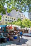 Greenmarket kwadrat w Kapsztad Zdjęcia Royalty Free
