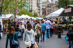 Greenmarket at Union Square in New York. City Royalty Free Stock Image