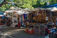 Greenmarketvierkant in Cape Town Stock Foto's