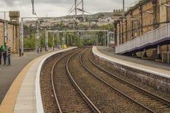 Greenock train station stock photography