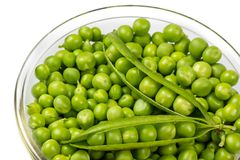 Greenp peas royalty free stock photos