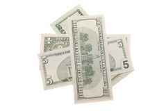 greenpacks доллара американца различные стоковые изображения rf
