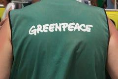 greenpeace 免版税库存照片