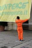 Greenpeace italiano Fotografie Stock Libere da Diritti