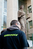 Greenpeace italy Royalty Free Stock Photo