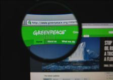 Greenpeace Stock Photography
