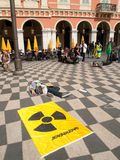 Greenpeace protest, Nice Stock Images