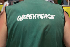 GreenPeace Royalty Free Stock Photo