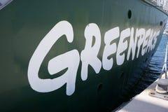 GreenPeace Royalty Free Stock Photos