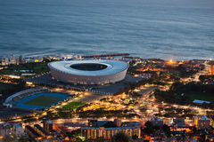 Greenpoint Capetown South Africa. Greenpoint Stadium in Capetown South Africa stock images