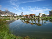 Greenpoint Park Cape Town. SA Looking towards Lion's head Stock Images