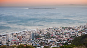 Greenpoint robern island Capetown South Africa. Greenpoint Stadium in Capetown South Africa royalty free stock photography