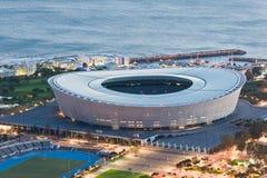 Greenpoint stadium Capetown Południowa Afryka obraz royalty free