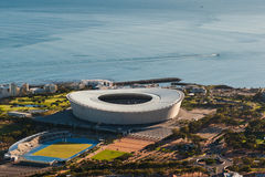 Greenpoint Stadium Capetown South Africa. Greenpoint Stadium in Capetown South Africa Royalty Free Stock Photography