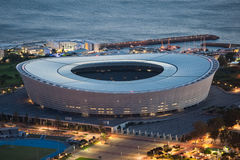 Greenpoint Stadium Capetown South Africa. Greenpoint Stadium in Capetown South Africa Stock Images