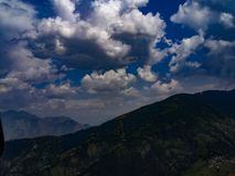 Greenry de aard van Himachal pradesh bergen stock foto's