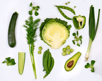 Greens Royalty Free Stock Photo