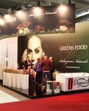 Greens Food at Tuttofood Milano World Food Exhibition 2013 Royalty Free Stock Images