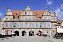 Greens gate von Gdansk in Poland Royalty Free Stock Photo