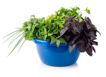 Greens In A Bowl Royalty Free Stock Image